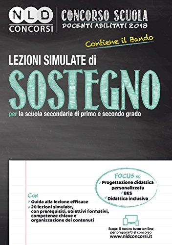 Lezioni simulate di sostegno per la scuola secondaria di primo e secondo grado