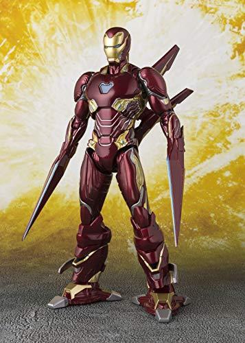 Bandai 魂ネイション S.H.Figuarts 映画『アベンジャーズ/インフィニティ・ウォー』アイアンマン MK-50 ナノ 武器セット アクションフィギュア