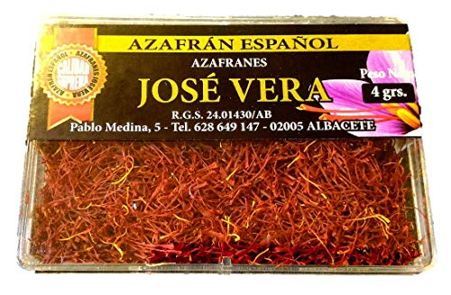 Zafferano spagnolo di qualità suprema (Cat. I Iso 3632-2), Elaborazione tradizionale, ottimo aroma e sapore, 4g