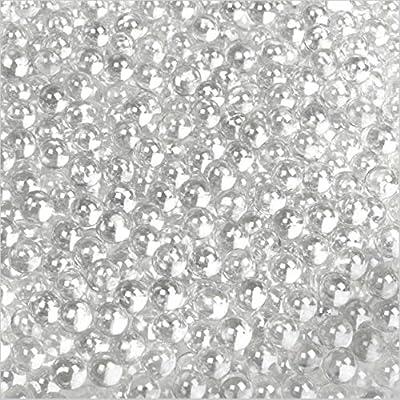 WeJe Glass Gems Sea Glass Chunks for Home Decor Art Craft Vase Filler Aquarium Gravel