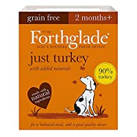 WET DOG FOOD: 18 x 395g trays of grain free dog food suitable for dogs aged 2 months+, perfect for puppies, adult and senior dogs NATURAL INGREDIENTS: Bursting with goodness and made using natural ingredients, with added vitamins, minerals & botanica...