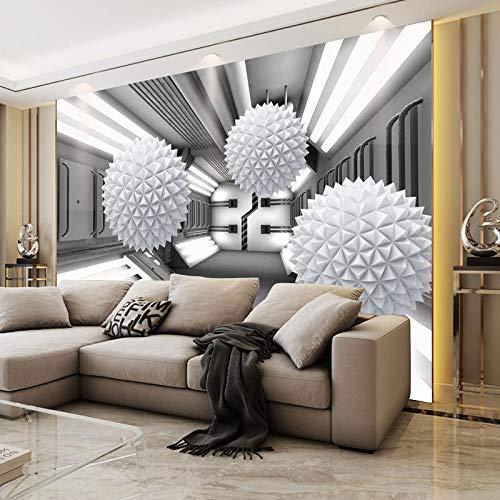 RTYUIHN 3D Tapete Wandbild Wohnzimmer geometrische Schlafzimmer Persönlichkeit einfache Moderne Schlafzimmer Wohnzimmer Moderne Wandkunst Dekoration