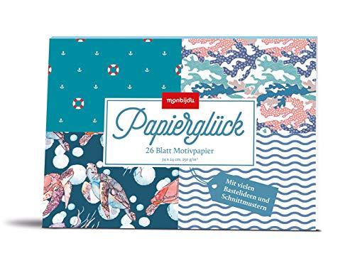 Papierglück - Design maritim: Motivpapier (monbijou)
