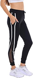Moddy's Women's Sportswear Fashion Jogger Sweatpants with Pockets | Active Casual Sport Jogger with Mesh Track Suit