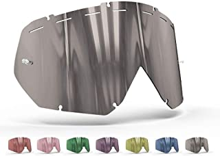 OnyxLenses Polarized Replacement Lens for Thor | Hero/Enemy w/Pins & Vented UNI/Smoke Gray