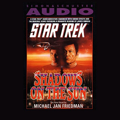Star Trek: Shadows On The Sun audiobook cover art