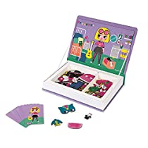 Janod-MagnetiBook-Disfraces-Juguete-Educativo