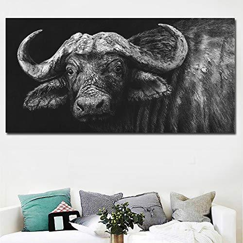 YuanMinglu Impresión Moderna del Arte de la Pared del bú