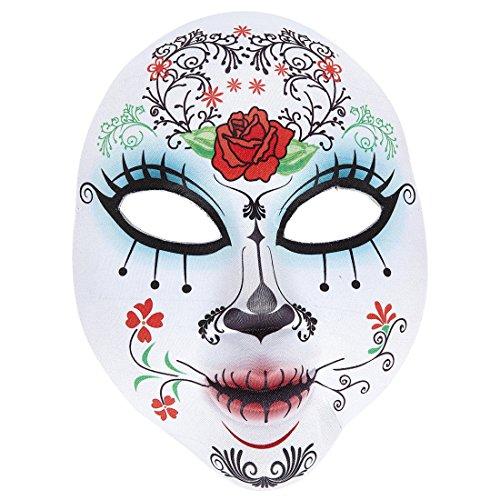 Amakando Sugar Skull Antifaz Halloween Máscara Día de los Muertos...