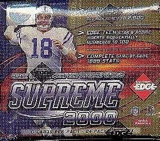 2000 football hobby box