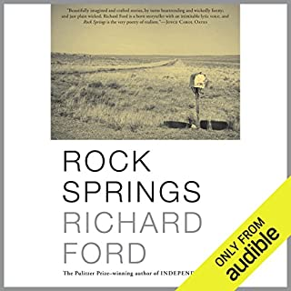 Rock Springs     Stories              By:                                                                                                                                 Richard Ford                               Narrated by:                                                                                                                                 Fleet Cooper                      Length: 8 hrs and 19 mins     27 ratings     Overall 4.0