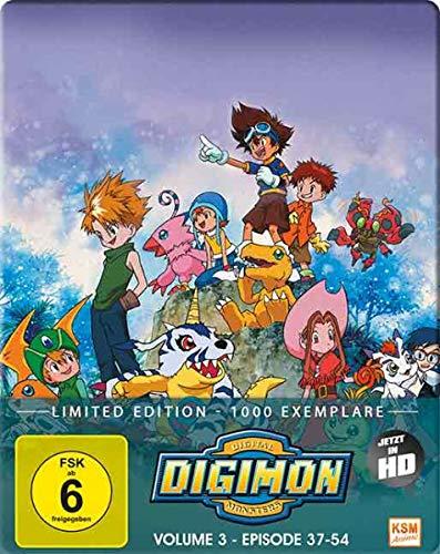 Digimon Adventure - Staffel 1, Volume 3: Episode 37-54 [Blu-ray]