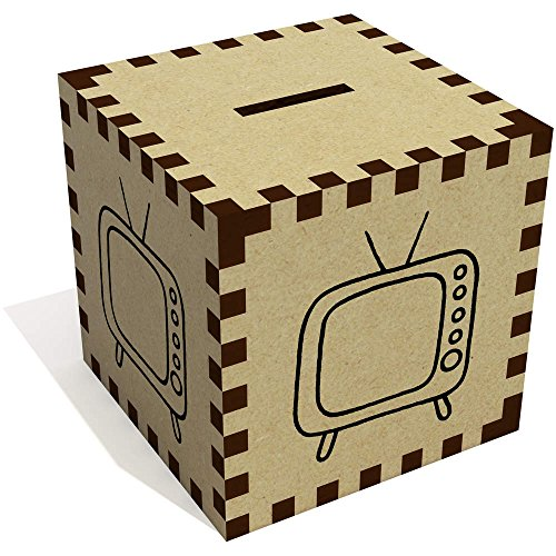 Azeeda 'Retro Fernseher' Sparbüchse / Spardose (MB00050923)