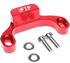 Manual PerformanceShifter Stop Gap Removal Shift Stop Red Anodized for Subaru 2015 WRX/10-14 Legacy/Outback/14+ Forester