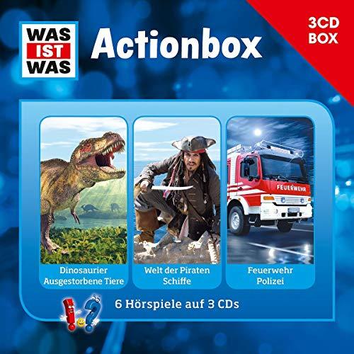 Was Ist Was 3-CD Hörspielbox Vol.1 - Actionbox