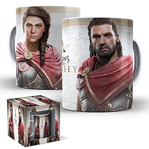 Caneca de Porcelana com Caixinha Presente Assassin's Creed Odyssey mod.49