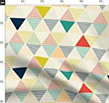 Geometrisch, Dreieck, Skandinavisch, Modern Stoffe -