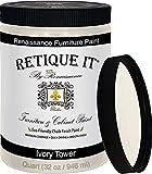 Retique It Chalk Furniture Paint by Renaissance DIY, 32 oz (Quart), 32 Fl Oz