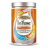 Twinings In'fuse fruta de la pasión, mango y naranja sanguina 12 x 2,5g bolsa para infusión fría