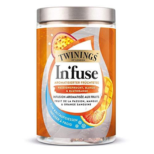 Twinings In'fuse frutto della passione, mango & arancia rossa 12 x 2,5g sacchetto per infusione a freddo