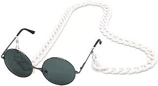 YALEX Eyeglasses Holder Strap Cord -Eyeglass String Retainer Cord -Glasses Lanyard Chain Necklace