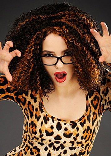 90s Pop Star Mel B Scary Spice Rizado Peluca