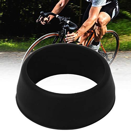FOLOSAFENAR Tija de sillín Cubierta Impermeable Anti-oxidación Bicicleta de Carretera de montaña 10PCS O Ring Tija de sillín de Bicicleta(Black)