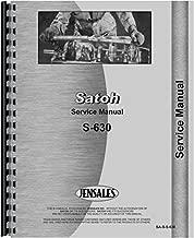 Satoh S630 Tractor Service Manual