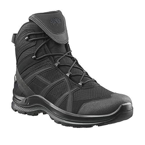 Haix Black Eagle Athletic 2.1 GTX mid/Black Optimiertes Design - Robuste Schuhe für Beruf und Freizeit. 42