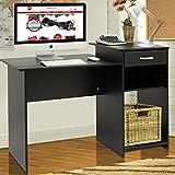 Henf Computer Desk, Integrated Melamine Board Computer Desk with Drawer