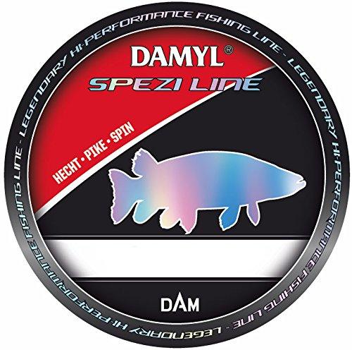DAM Damyl Spezi Line Zielfisch-Schnur Monofil - Aal Forelle Karpfen Mehr (Hecht Spin 300 m 0,35 mm 9,9 kg)