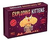 Explodierende Kätzchen Kartenspiel - Familienfreundliche Gesellschaftsspiele - Kartenspiele for...