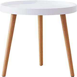 TUKAILAI Nowoczesny okrągły stolik kawowy stolik stolik bo