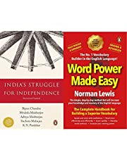 Your Best Companion for Exam Preparation: Indian History and English Learning-1 (Set of 2 Books)