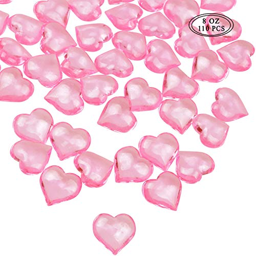 pink acrylic gems - 7