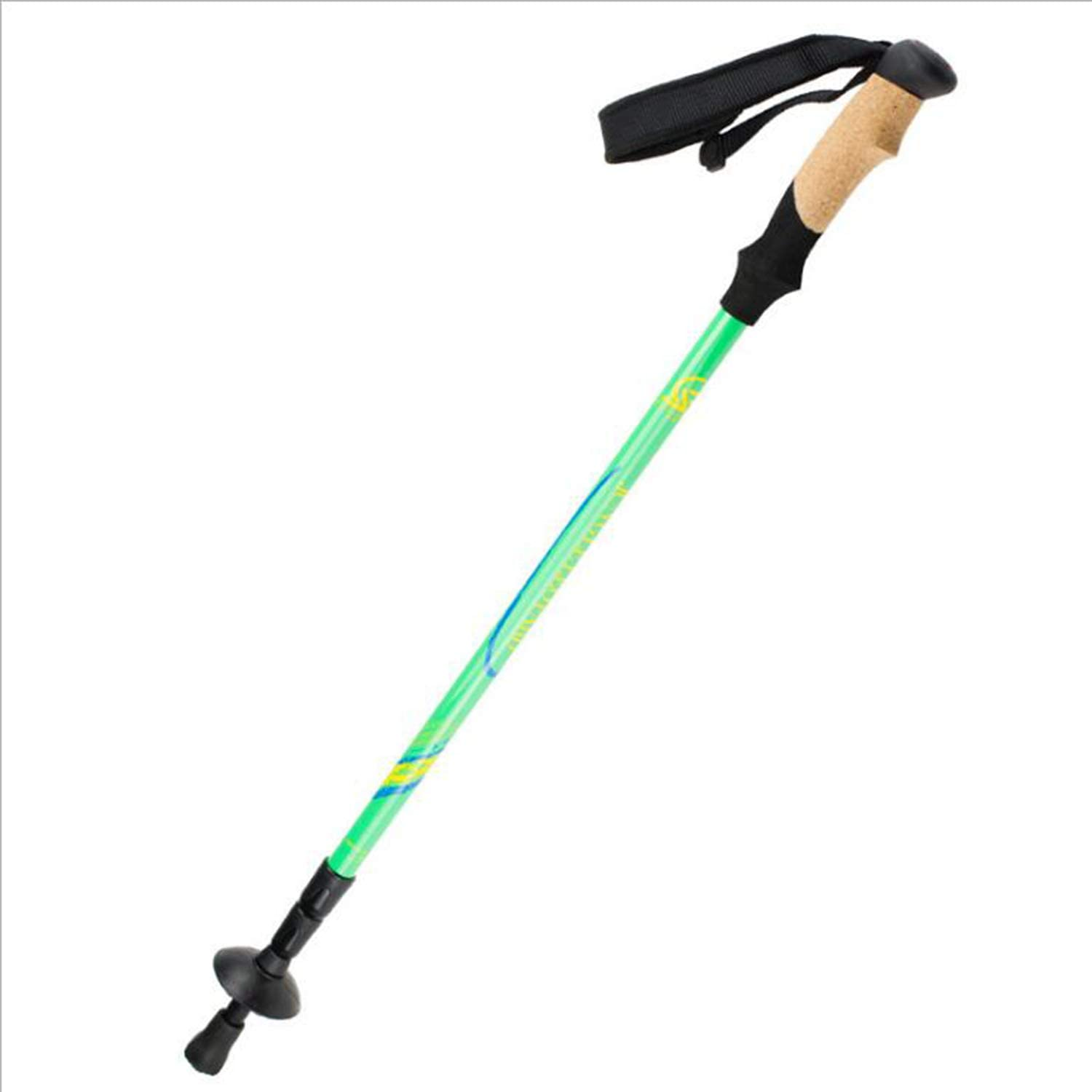Trekking Poles Light 50% Carbon, with A Straight Handle EVA Cork Trekking Poles, Ski Poles, Good Toughness, 3SL Locking System, Extendable,1 Pieces 65135cm