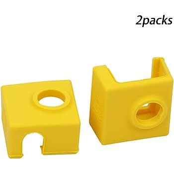 2 fundas de silicona para impresora 3D con bloque calefactado, MK7 ...