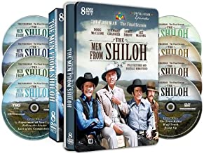 The Men from Shiloh - The Final Season from The Virginian- 24 Full Color Episodes! - Special Embossed Tin !