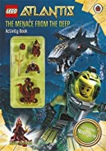 Lego Atlantis: The Menace From the Deep Activity Book with Lego Figurine by Ladybird(Ladybird) (2010-04-01)