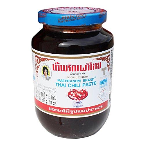 Maepranom süsse Chilipaste Nam Prik Pao 513g