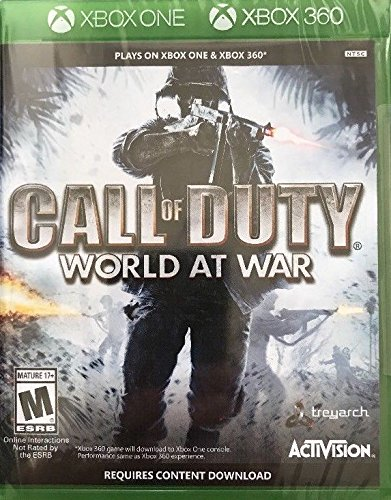 Call Of Duty World At War (Xbox One Version)