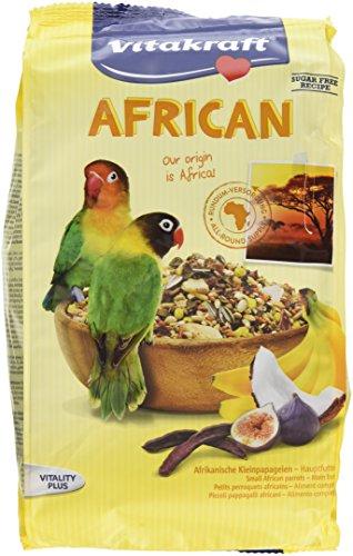 Vitakraft African afrik. Kleinpapagei Futter, 5er pack (5 x 750g)