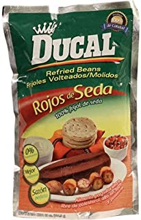 Ducal Refried Beans 28 oz Rojos de Seda