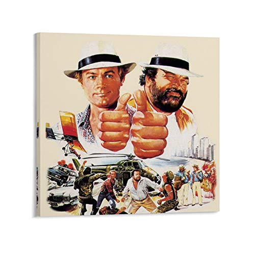 YANGBD Vier Fäuste Gegen Rio Poster Leinwand Kunst Poster und Wandkunst Bilddruck Moderne Familienzimmer Dekor Poster 16x16inch(40x40cm)