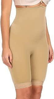 CINDYLOVER Women's Seamless Butt Lifter Shapewear Thigh Slimmer Back Hole Control Panties