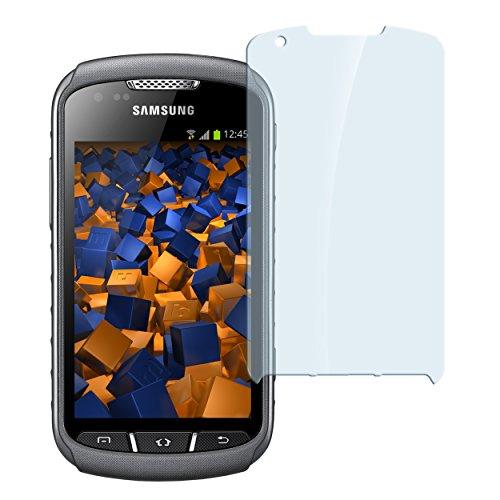 mumbi Hart Glas Folie kompatibel mit Samsung Galaxy Xcover 2 Panzerfolie, Schutzfolie Schutzglas (1x)