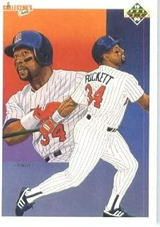 1990 Upper Deck # 48 Kirby Puckett TC - Minnesota Twins - MLB Baseball Trading Card