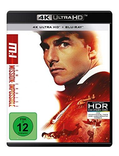 Mission: Impossible 1 (4K Ultra HD) (+ Blu-ray 2D)