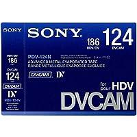 SONY PDV-124N DVCAM for HDV カセットテープ(メモリ無し)