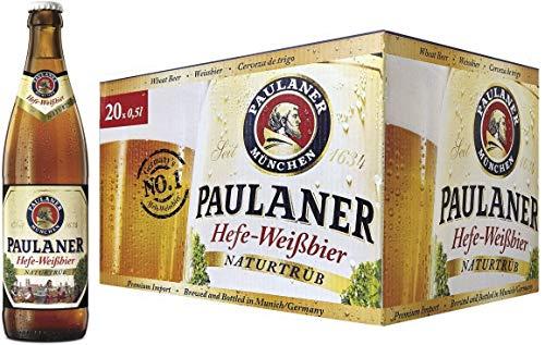 Paulaner Hefe Weissbier Cerveza Botella - 500 ml